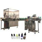 Amber Damlalık Şişesi için 3kw Otomatik Elektronik Sıvı Dolum Makinesi 10ml / 30ml