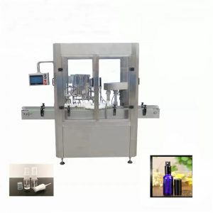 Alüminyum Flakon Sprey Şişe Dolum Makinesi
