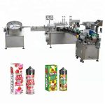 5-35 şişe / dak 10ml / 30ml Cam Şişe Damlalığı İçin Otomatik Sıvı Dolum Makinesi