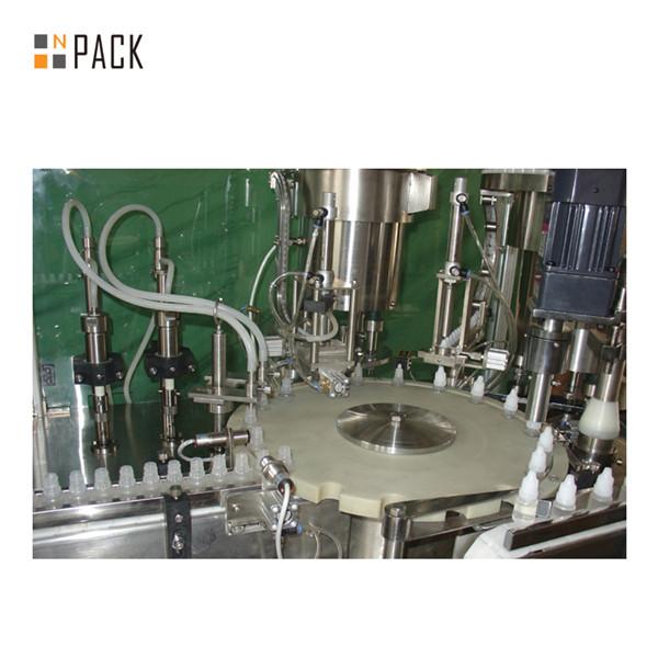 5-30ml Otomatik Cam Damlalık E Sıvı Dolum Makinesi