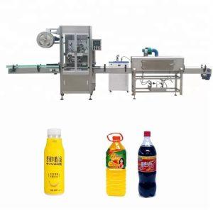 Otomatik şişe kol küçülen makine