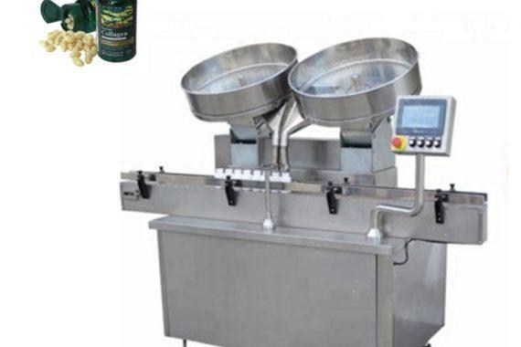 Dolum makinesi sayma otomatik paslanmaz çelik hap kapsül tabletleri