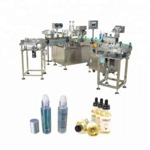 Bilyalı Şekilli Flakon Sıvı Dolum Makinesi