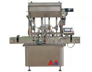 CE Standart Sos Yapıştır Şişe Dolum Makinesi