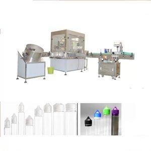 Siemens Dokunmatik Ekran Arabirimli Elektronik Sıvı Dolum Makinesi