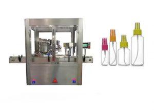 Tam Otomatik Parfüm Dolum Makinesi Renkli Dokunmatik Ekran