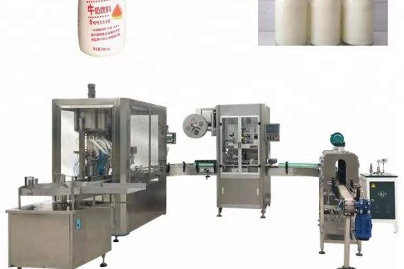 Cam Şişe Otomatik Sıvı Dolum Makinesi