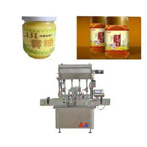 PLC Kontrol Sos Yapıştır Şişe Dolum Makinesi