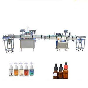 Damlalıklı Cam Şişeler için Parfüm Dolum Makinesi