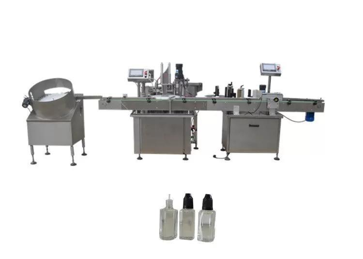 Peristaltik Pompa Dolum Kapağı Etiketleme Makineleri