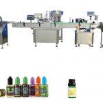 5-35 şişe / dak Pompa Sıvı Dolum Makinesi, PLC Kontrol Flakon Sıvı Dolum Makinesi
