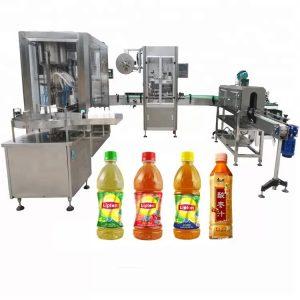 Vidalı Kapak Kafa Otomatik Sıvı Dolum Makinesi