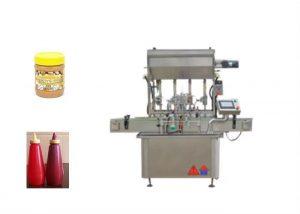 Yarı Sıvı Soslu Macun Şişesi Dolum Makinesi