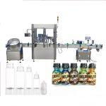 Servo Motor Damlalık Şişe Dolum Makinesi, Dokunmatik Ekran Kontrolü Parfüm Kapatma Makinesi