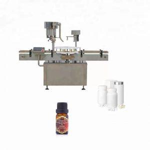 Tıpta Kullanılan Paslanmaz Çelik Şişe Kapatma Makinesi