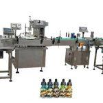 30ml Amber Şişeler İçin İki Kafa Tam Otomatik Şişe Dolum Makineleri