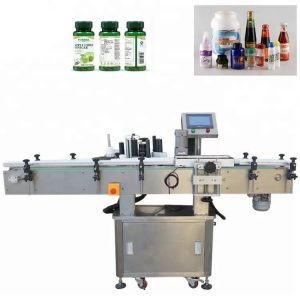 Dikey Paslanmaz Çelik Flakon Etiketleme Makinesi